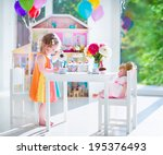 Adorable Toddler Girl With...