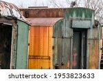Vintage Rusty Metal On...