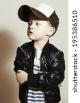 Fashionable Little Boy.hip Hop...