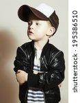Fashionable Little Boy.hip Hop...