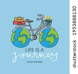 life is a journey inspirational ...   Shutterstock .eps vector #1953888130