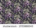 vector floral seamless pattern. ...   Shutterstock .eps vector #1953888343