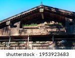 Rustic Wooden Cottage With...
