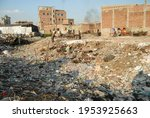 Small photo of West and plastic in Banks of Buriganga river is afflicted by the noisome problem of pollution. The chemical waste of mills and factories, plastics, are pollutants, Dhaka, Bangladesh on Nov 9, 2010.