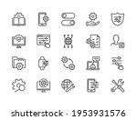 simple set of setup  repair and ...   Shutterstock .eps vector #1953931576