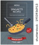 vintage food poster design with ...   Shutterstock .eps vector #1953936913