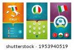 italy european 2020 football... | Shutterstock .eps vector #1953940519