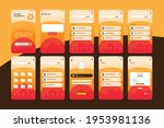 cute orange storage management...
