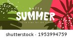 colorful summer background... | Shutterstock .eps vector #1953994759