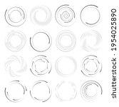 Circles  Dotted  Dots Spiral...