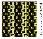 yellow geometric patterns....   Shutterstock .eps vector #1954036903