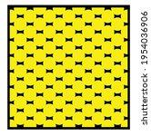 yellow geometric patterns....   Shutterstock .eps vector #1954036906
