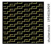 yellow geometric patterns....   Shutterstock .eps vector #1954036909