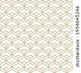 abstract simple pattern with... | Shutterstock .eps vector #1954045246