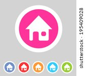 flat game graphics icon home