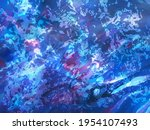 abstract blue painting ... | Shutterstock .eps vector #1954107493