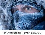 Portrait Of A Man In Winter...
