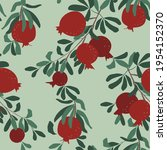 Seamless Vector Pattern. Red...