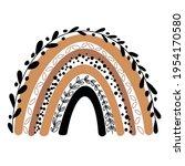 rainbow clip art  rainbow... | Shutterstock .eps vector #1954170580