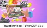 3d conceptual illustration of... | Shutterstock . vector #1954204336