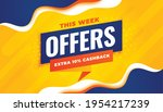 sale and offers template in...   Shutterstock .eps vector #1954217239
