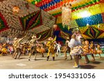 Square Dance Performing At The...