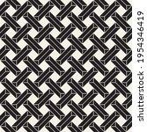 vector seamless interlocking...   Shutterstock .eps vector #1954346419