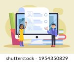 recruitment concept. search ...   Shutterstock .eps vector #1954350829