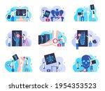 orthopedic diagnostic. human...   Shutterstock .eps vector #1954353523
