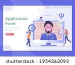 job apply website banner with...