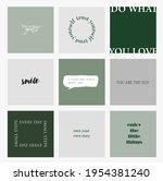 design backgrounds for social...   Shutterstock .eps vector #1954381240