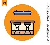 bar counter icon vector design. ...