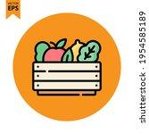 vegetables icon vector design....