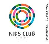 abstract art graphic logo kids...   Shutterstock .eps vector #1954657909