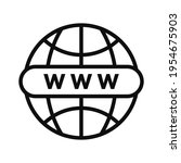 world globe with with letters...
