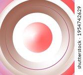 circular color gradient. shades ...   Shutterstock .eps vector #1954742629