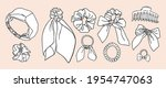 collection of separate vector... | Shutterstock .eps vector #1954747063