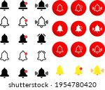 lots of bell icon sets