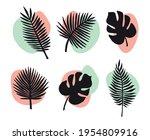 vector set bundle of hand drawn ...   Shutterstock .eps vector #1954809916