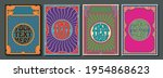 Psychedelic Posters Template...
