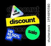 discount banner template.... | Shutterstock .eps vector #1954890580