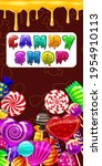 candy shop  sweet different... | Shutterstock .eps vector #1954910113