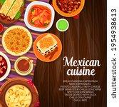 mexican cuisine vector potato... | Shutterstock .eps vector #1954938613