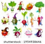 magician  witch  wizard veggies ... | Shutterstock .eps vector #1954938646