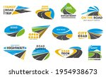 road safety vector icons ... | Shutterstock .eps vector #1954938673
