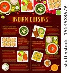 indian cuisine meals with meat... | Shutterstock .eps vector #1954938679