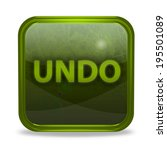 undo pointer icon on white...