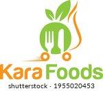 food delivery logo design... | Shutterstock .eps vector #1955020453