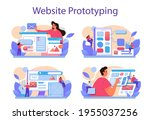 website prototyping set. web...