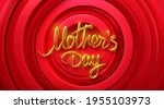 mothers day. vector holiday...   Shutterstock .eps vector #1955103973